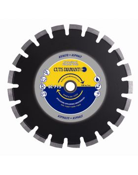 Disco diamantato EC 715 per asfalto